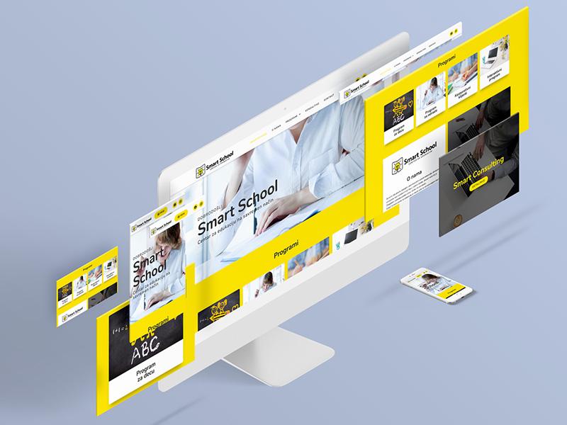 Web sajt na razlicitim uredjajima