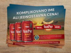 Van Pur Malt flajer